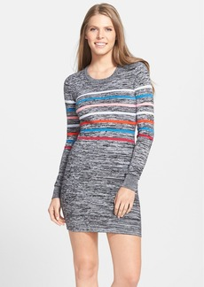 French Connection Colored Stripe Body-Con Sweater Dress (Online Only)