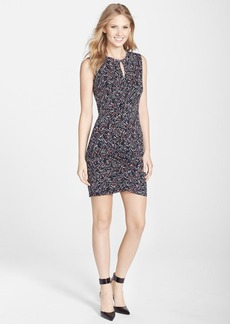 French Connection 'Confetti Grid' Graphic Print Jersey Sheath Dress