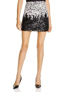FRENCH CONNECTION Cosmic Sparkle Skirt - Bloomingdale's Exclusive