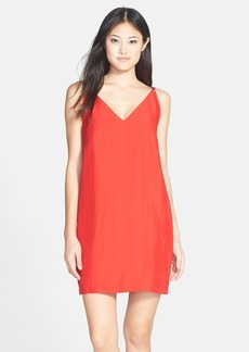 French Connection 'Crystal' Sleeveless Crepe Shift Dress