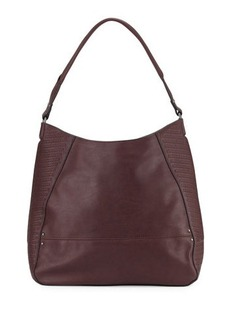 French Connection Dakota Faux-Leather Hobo Bag