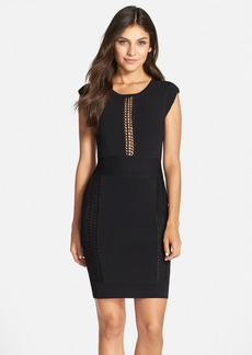 French Connection 'Danni' Lace Inset Body-Con Dress