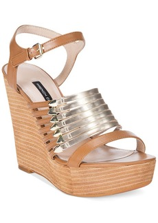 French Connection Demi Wedge Platform Sandals
