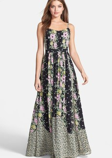 French Connection 'Desert Topicana' Print Chiffon Maxi Dress