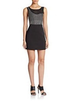 FRENCH CONNECTION Diamond Rock Jersey Dress