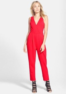 French Connection Double V-Neck Jumpsuit