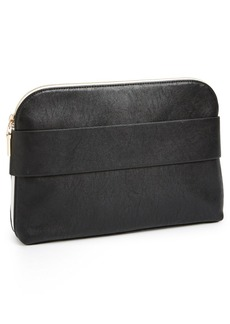 French Connection 'Dream Boat' Faux Leather Clutch