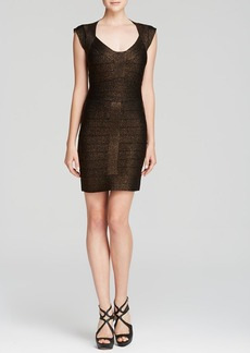 FRENCH CONNECTION Dress - Dani Metallic Bandage