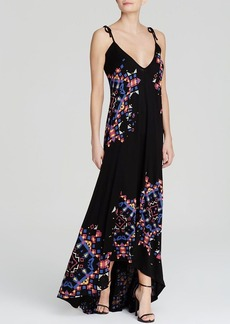 FRENCH CONNECTION Dress - Electric Rays High/Low Maxi