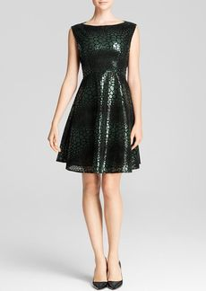 FRENCH CONNECTION Dress - Fast Croc Flock