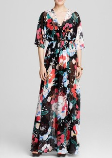 FRENCH CONNECTION Dress - Floral Reef Chiffon Maxi