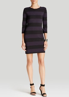 FRENCH CONNECTION Dress - Manhattan Winter Stripe