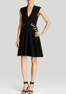 FRENCH CONNECTION Dress - Marie Stretch Embroidered
