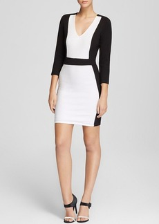FRENCH CONNECTION Dress - Textured Color Block