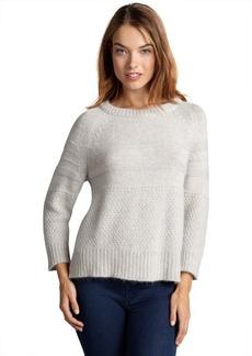 French Connection dusty grey crewneck melange sweater