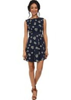 French Connection Eddy Floral Cotton Dress 71DJI