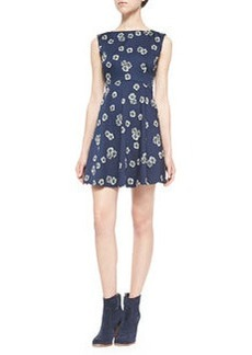 French Connection Eddy Floral Fit & Flare Dress