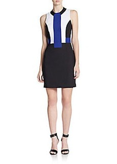 French Connection Edyta Colorblock Sheath Dress