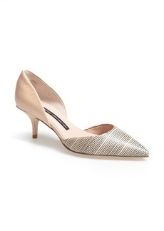 French Connection 'Effie' Pointy Toe d'Orsay Pump