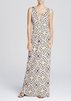 FRENCH CONNECTION Electric Mosaic Maxi Dress