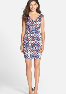 French Connection 'Electric Mosaic' Sheath Dress