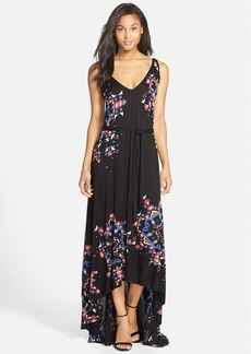 French Connection 'Electric Rays' Print Knit Maxi Dress