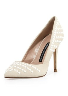 French Connection Elmyra Studded d'Orsay Pump