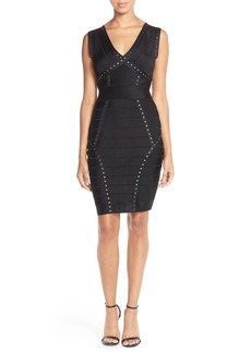 French Connection Embellished Bandage Dress