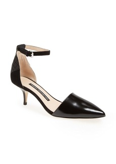 French Connection 'Enora' d'Orsay Leather Pump (Women)