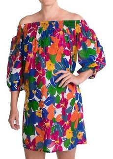 French Connection Fancy Floral Off-Shoulder Dress - 3/4 Sleeve (For Women)
