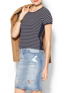 French Connection Fast Suki Stripe Top