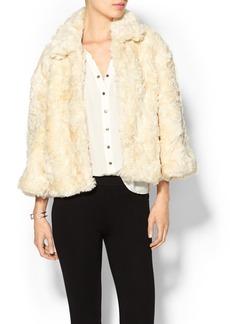 French Connection Faux Fur Polar Teddy Jacket