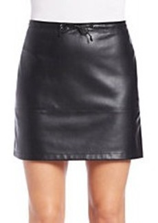 FRENCH CONNECTION Faux leather Mini Skirt