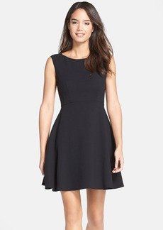 French Connection 'Feather Ruth' Fit & Flare Dress