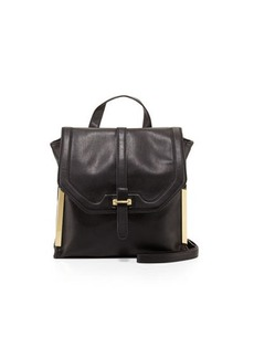 French Connection Finn Faux-Leather Messenger Bag