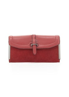 French Connection Finn Flap-Top Clutch Bag