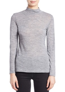 FRENCH CONNECTION Fitted Mock-Neck Top