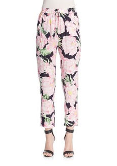 French Connection Floral-Print Pants