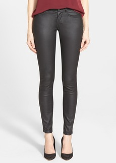 French Connection 'Gazelle' Coated Skinny Pants (Online Only)