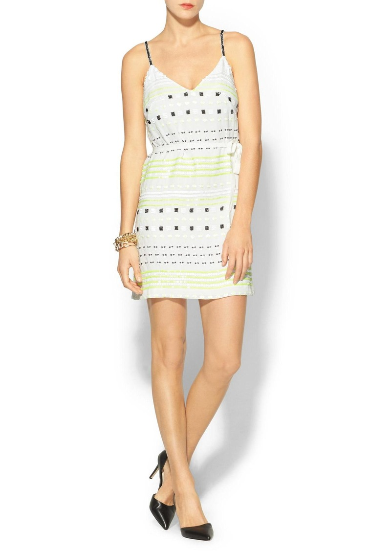 French Connection Geo Flash Sequin Dress