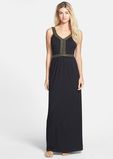 French Connection 'Haute' Embellished Jersey Maxi Dress