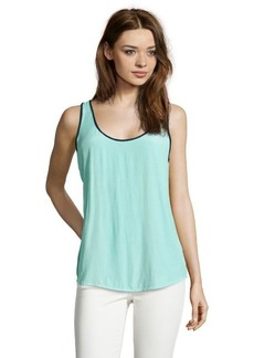 French Connection hawaii surf and nocturnal 'May's Haze' sleeveless blouse