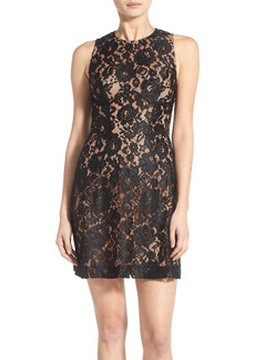 French Connection 'Heartbreaker' Lace Sheath Dress