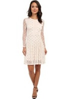 French Connection Hot Spot Lace Dress