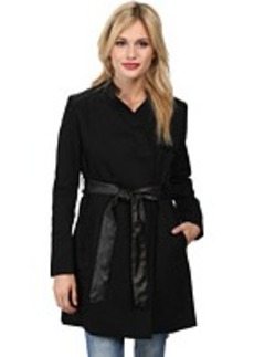 French Connection Inverted Collar Trench