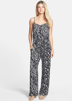 French Connection 'Island Storm' Print Wide Leg Jumpsuit