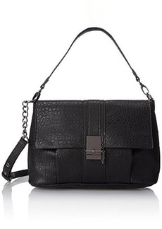 French Connection Izzy Messenger Bag, Black, One Size