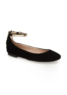 French Connection 'Jaymey' Ankle Strap Flat (Women)
