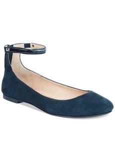 French Connection Jaymey Ankle Strap Flats