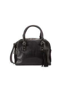 French Connection Jenny Faux-Leather Satchel